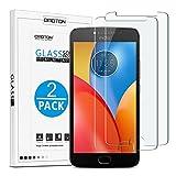 OMOTON [2 Pièces] Motorola Moto E4 Plus Film en Verre Trempé, Protection D'écran Ultra...