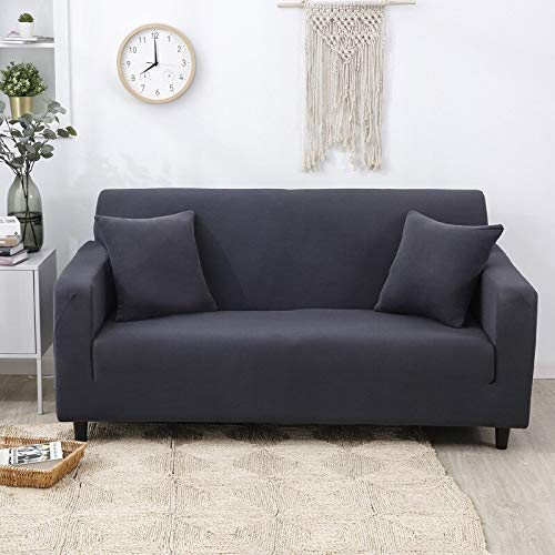 WXQY Funda de sofá elástica Funda de sofá, Funda de sofá de Sala de Estar Moderna, Funda de protección de Silla en Forma de L de Esquina, Funda de sofá A11 1 Plaza