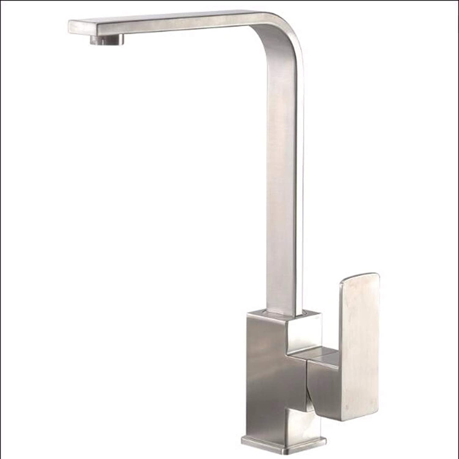 XPYFaucet Faucet Tap Taps Lead-free 304 stainless steel kitchen can be redated hot and cold