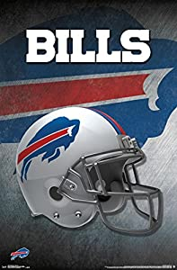 "Trends International Buffalo Bills Helmet Wall Poster 22.375"" x 34"""