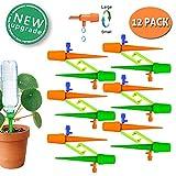 taope - sistema di spuntoni autoirriganti per piante con valvola di controllo a rilascio lento e dispositivo di irrigazione a goccia, con staffa anti-ribaltamento