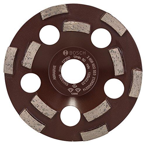 Bosch Professional Diamanttopfscheibe Expert für Abrasive, 50 g/mm, 125 x 22,23 x 4,5 mm, 2608602553