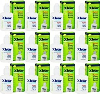 Xlear Nasal Spray for Sinus Relief 0.75oz (12 Pack)