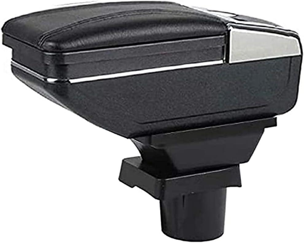 Coche Apoyabrazos Caja Reposabrazos Central para Mini Cooper Coupe, Almacenamiento Reposabrazos Interior Accesorios