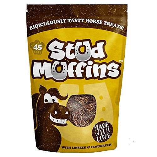 Muffins à goujon (lot de 45) (marron)