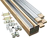 """Stanley Hardware PDF150 3' x 6'8"""" Opening Pocket Door Contractor Set, 6'8"""" Opening"""