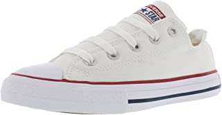 Chuck Taylor All Star Ox Ankle-High Fabric Fashion Sneaker Optical White