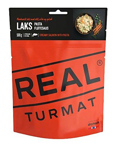 Alimento de expedición original de Real/Drytech, salmón de 5220 pulgadas con pasta y nata, 601 kcal/129 g (500 g listo)