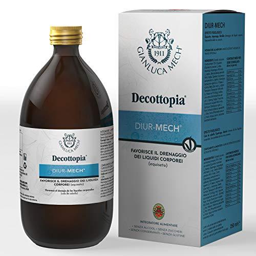 Gianluca Mech - Diur-Mech Decottopirico con Funzione di Drenaggio dei Liquidi Corporei all\'Equiseto - 250 ml