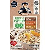QuakerFiber & Protein Instant Oatmeal クエーカーインスタントオートミールバラエティパック45g x 8袋