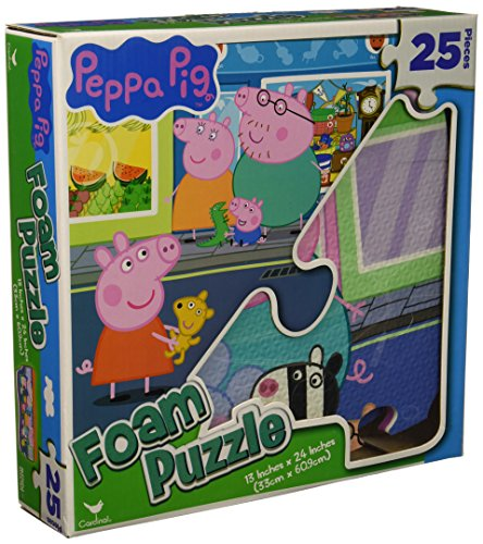 Peppa Pig Foam Puzzle - 25 Pieces