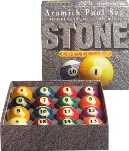 Aramith Stone Collection Pool- und Billardkugel-Set