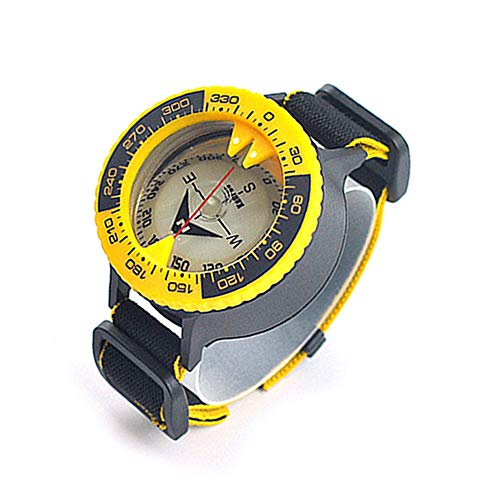 KanPas D-50 Ocean Elite Scuba Diving Wrist Compass for Orienteering Hiking Gliding Camping Climbing Cycling