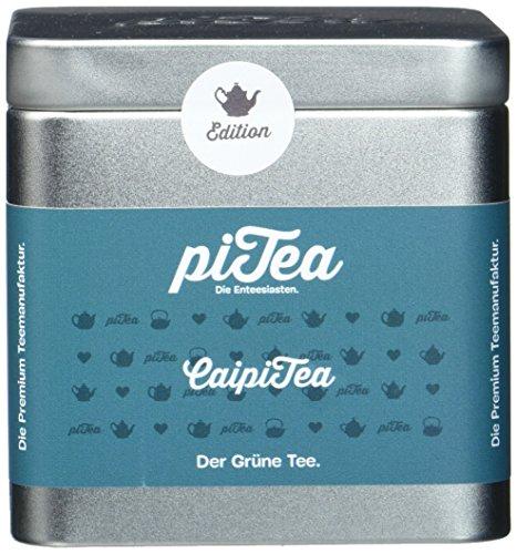 Pi Tea CaipiTea Dose, Grüner Tee, Teestation, natürlich und vegan, 2er Pack (2 x 75 g)