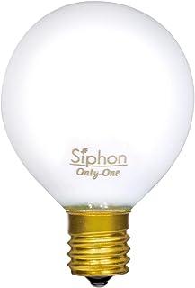 ビートソニック LED電球 《Siphon》ホワイトタイプ G50 30W相当 全光束300lm 電球色(2600K) 口金E17 調光器対応 LDF69