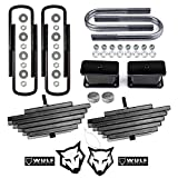 WULF 3' Front 3' Rear Lift Kit compatible with 1999-2004 Ford F250 F350 Super Duty 4X4