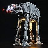 icuanuty Kit De Iluminación LED para Lego Star Wars At-At Walker Compatible con Lego 75288 (No Incluye El Juego Lego)