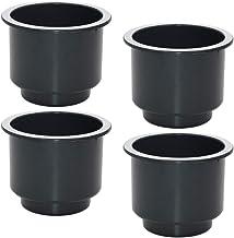 FLAMEER Meubelverhoging rond zwart bedverhoging tafelverhoger meubelverhoger sofa tafel poten poten 4-pack - 85 mm