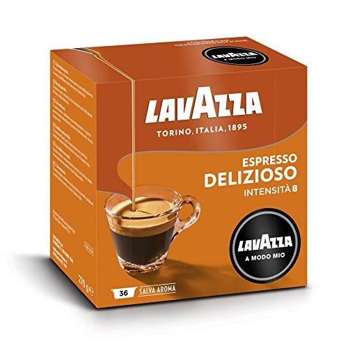 Lavazza a Modo Mio Delizioso Caff蠌avazza Originali - 10 pacchi da 36 capsule, 360 pezzi