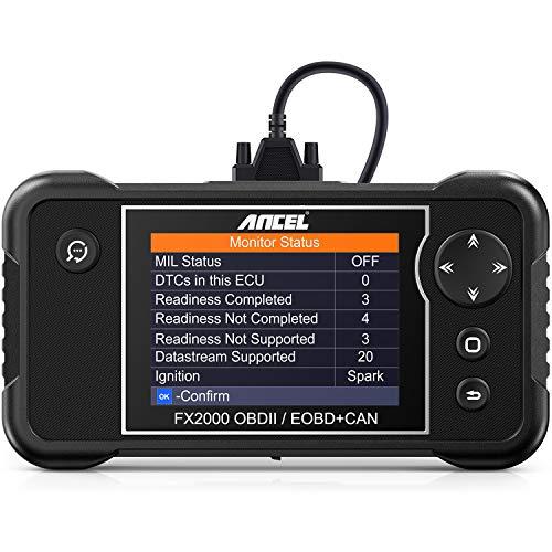 ANCEL FX2000 Pro OBDII Scan Tool Engine Transmission Airbag ABS Diagnostic Scanner
