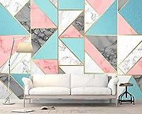 壁紙 3D 抽象的な幾何学的な霜降り 不織布壁紙テレビ背景壁
