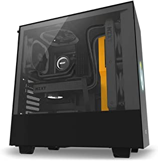 NZXT H500 Overwatch Midi-Tower Negro - Caja de Ordenador (Midi-Tower, PC, Acero, Vidrio Templado, Negro, ATX,Micro ATX,Mini-ATX, 16,5 cm)