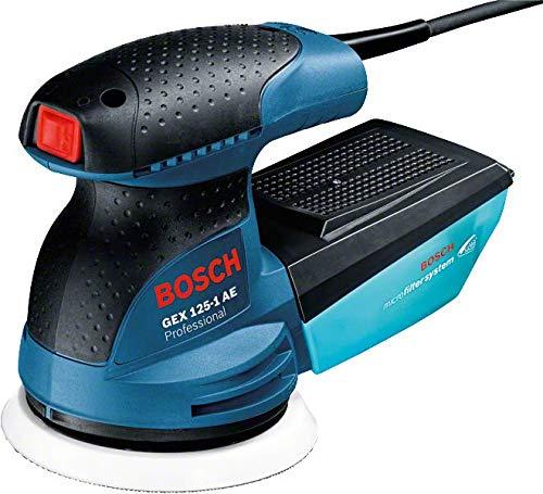 Bosch GEX 125-1 AE Professional Exzenterschleifer 250 W, 230 V, blau/schwarz