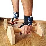 Cnwang Push-ups-bar Aus Holz Push-up Support Ständer I-förmig Anti-rutsch-innen- Und Außenarm Brustmuskeltraining Fitnessgeräte