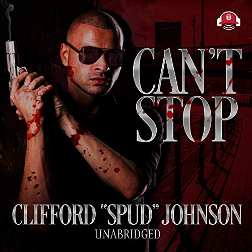 Can't Stop audiobook cover art