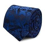 Blue Batman Comic Tie