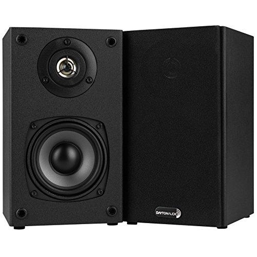 """Dayton Audio B452 4-1/2"""" 2-Way Bookshelf Speaker Pair"""