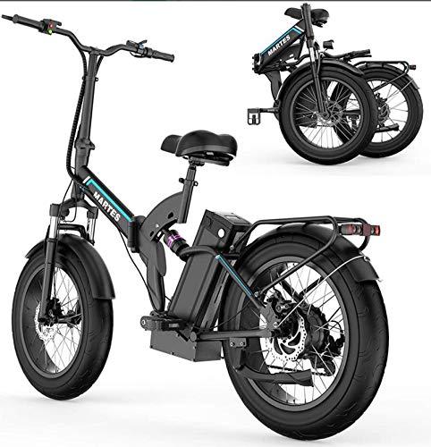 Fly YUTING Bicicleta eléctrica eléctrica Plegable de fábrica Original de 20 Pulgadas...
