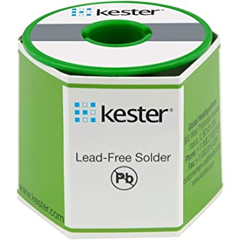 "Kester443-845 24-9574-7618 K100Ld Lead-Free No Clean Wire Solder.031"" Diameter-Low Cost Alloy"