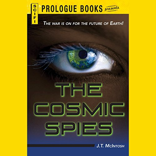 The Cosmic Spies audiobook cover art