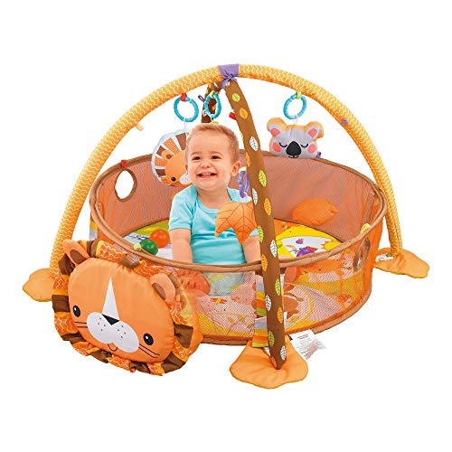 Lowest Price! LATINKIS Baby Play Mat & Ball Pit (Lion)