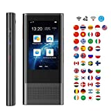 Traductor De Voz Wifi Inteligente Portátil Idioma Traducción Dispositivo Soportes Tarjeta SIM/Red 4G...