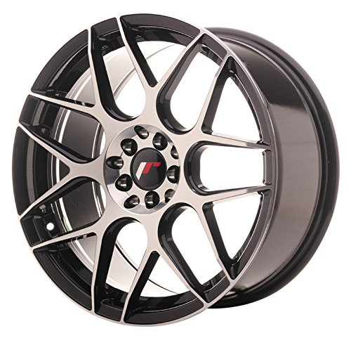 Japan Racing JR18 Black Machined - 18x8.5 ET40 5x112/5x114.3 Llantas de aleación (Competición)