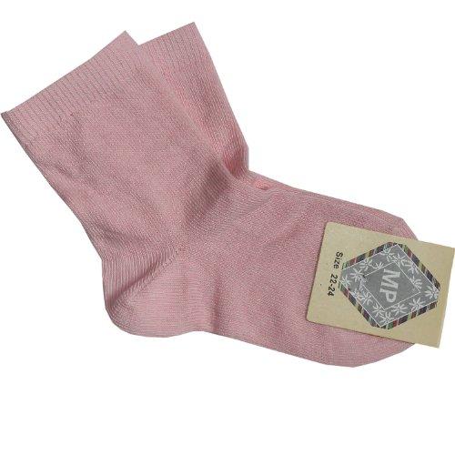 MP - Calcetines - para bebé niña rosa rosa