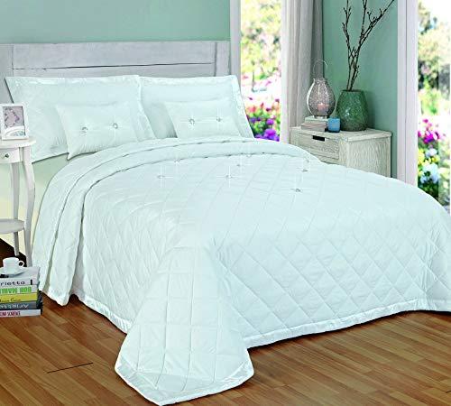 Diamanten sprei 5 stuks comfortabel bed gooien omkeerbaar
