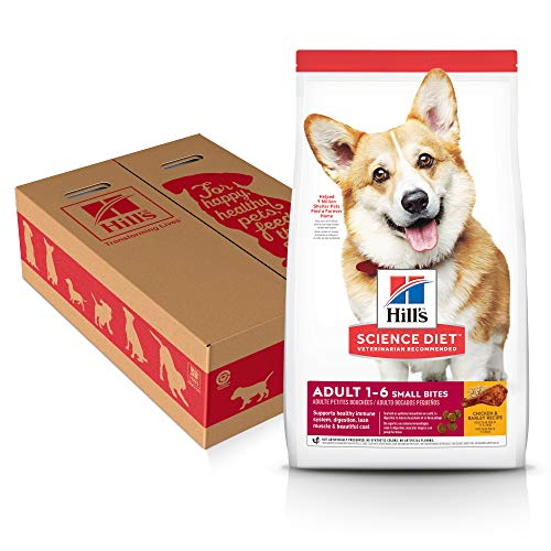 Hill's Science Diet Dry Dog Food, Adult, Small Bites, Chickey & Barley Recipe