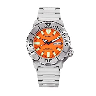 "Seiko Men's SKX781""Orange Monster"" Automatic Dive Watch (B000EPLR2G) 