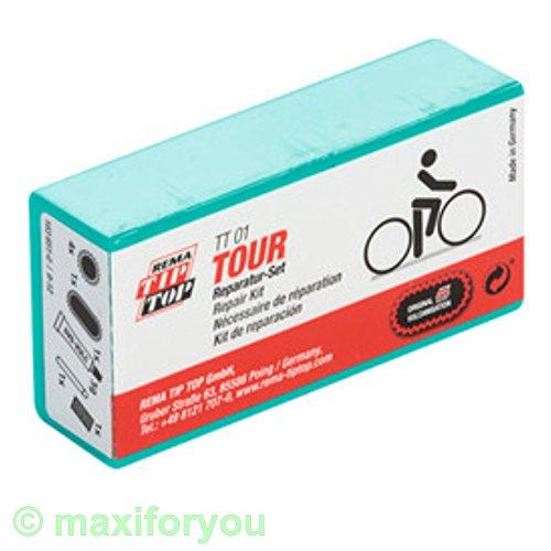 W01230103 Rema TIP-TOP TT01/05 - 7 o. 9-teilig - Fahrrad Flickzeug Reparaturset (1 x TT01)