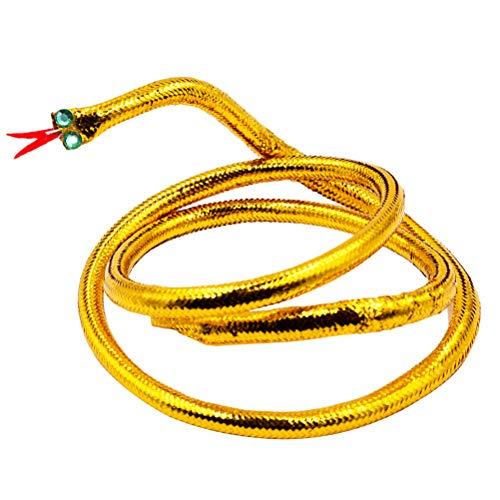Amosfun Oro Serpiente Cleopatra Diadema Cleopatra Serpiente Sombreros Traje Egipcio Hairband Carnaval Cosplay Mascarada Accesorios