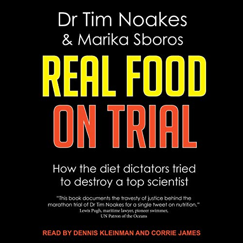 Real Food on Trial  By  cover art