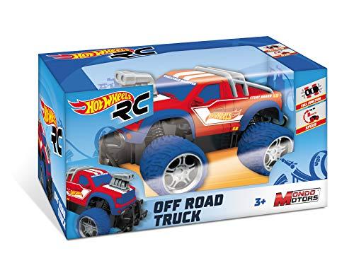 Mondo Motors - Hot Wheels Off Road Truck - macchina radiocomandata per bambini - 63588