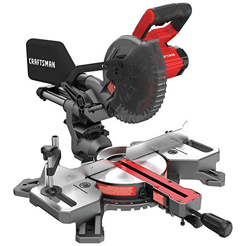 CRAFTSMAN V20 CMCS714M1 Sliding Miter Saw Kit