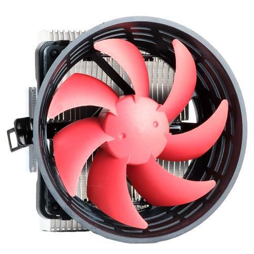 iTek ICY 100 Procesador Enfriador - Ventilador de PC (Procesador, Enfriador, 10 cm, LGA 1151 (Zócalo H4), LGA 1155 (Socket H2), LGA 1156 (Socket H), LGA 1366 (Socket B), LGA 775, 2200 RPM, 20 dB)