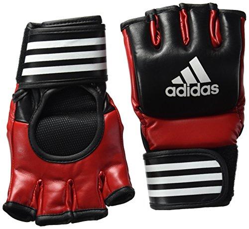 adidas Ultimate Fight Glove UFC Type Boxhandschuhe, Schwarz/Rot, L