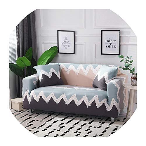Nihaoma Gedruckte Sofa-Abdeckung Couch Mantel Polyester Bank Abdeckungen Elastic Stretch Möbel Slipcovers für Weihnachten Dekoration,Bt-04,Ab 190-230Cm