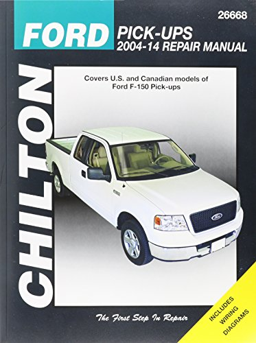 Chilton Ford Pick-Ups 2004-14 Repair Manual: Covers U.S. and Canadian models of Ford F-150 Pick-ups 2004…